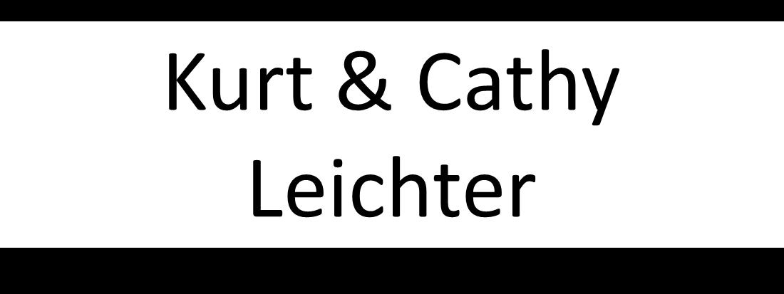 Kurt & Cathy Leichter - Sponsors